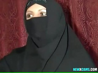 Beautiful muslim housewife