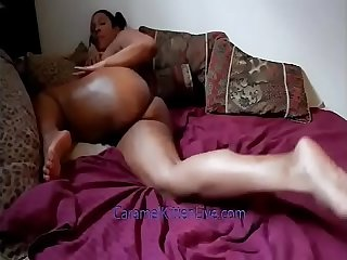 Caramel kitten naked twerking
