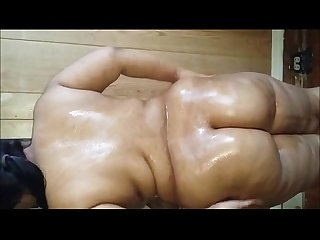 Indian bbw masturbating and sucking