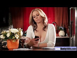 (julia ann) Horny Busty Wife In Hard Style Bang On Cam mov-14