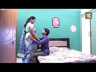 Hot aged telugu aunty romance with cable boy