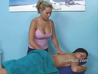 Susie S first time full body Massage