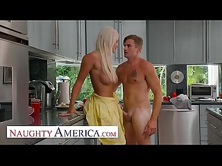 Naughty America - London River sneaks quickie with her s.'s friend