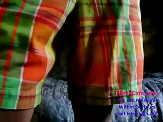 Horny indian Desi cute teen gets ready for action part 1