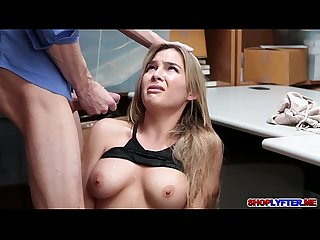 Blair williams shoplifts and pays for sex