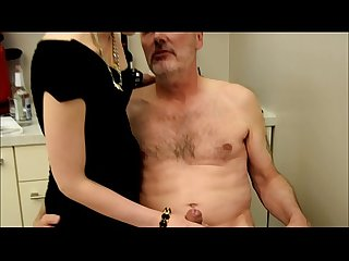 Ulf Larsen caught wanking & punished!