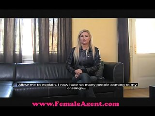 Femaleagent delicious blonde bombshell