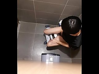 Korean teenboy hiden toilet 4