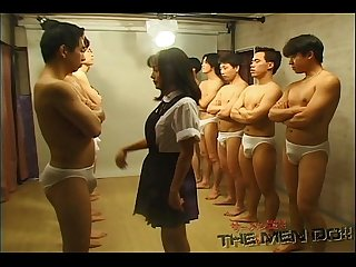 Bukkake Highschool Lesson 7 2/4 Japanese uncensored blowjob