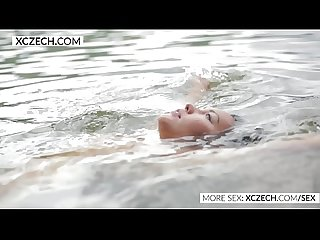 Beautiful asian water nymph making erotic swimming xczech com