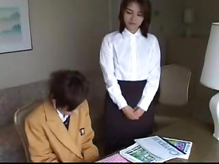 102 private lesson ends in spanking for bad student