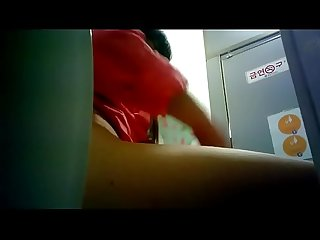 Hot Korean girl desperate to pee 3