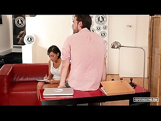 Exposed casting hot audition fucking with busty czech brunette anabell