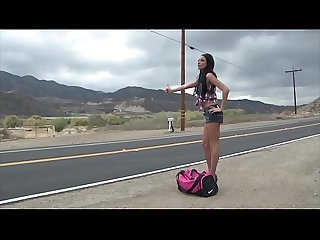 Anissa Kate on the road 66