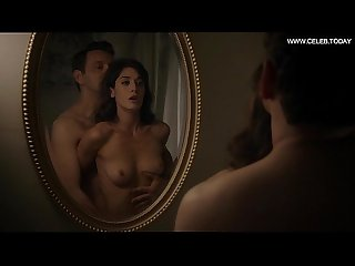 Lizzy caplan sex scene girl on top perky boobs Masters of sex s02e12 2014