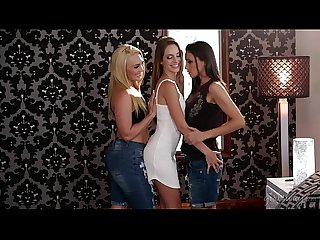 My new neighbours are a lesbian couple - Celeste Star, AJ Applegate, Kimmy Grang