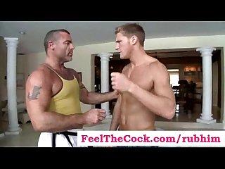 Rub him Gay massage Videos clip 07