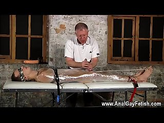 Bondage massage gay san diego sebastian had the men restrain luke on