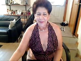 Old chuby belly amateur woman dancer whore has a silly smile