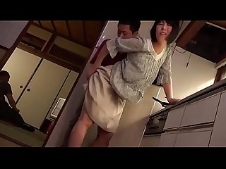 When a Japanese Milf is molested by a young man, her husband is next door - ReMilf.com