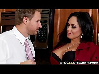 Big tits in uniform dinners on me scene starring mariah milano and levi cash