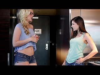 Sasha heart turns shyla jennings into a lesbian teen