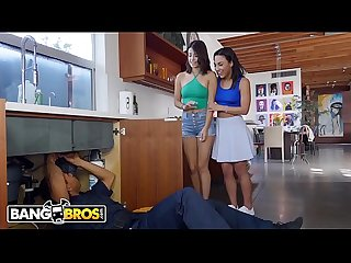 Bangbros latin sluts crave the plumber s big black cock