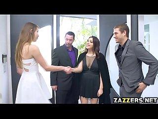 Valentina seduces the host S husband