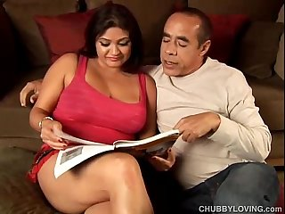 Beautiful big tits babe mimi loves the taste of cum