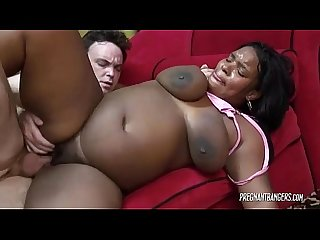 Pregnant ebony begs to be fucked