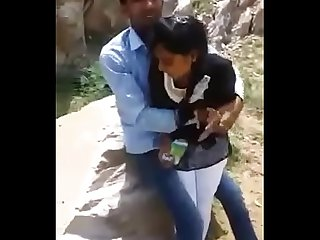 Desi girl with his boyfriend New latest