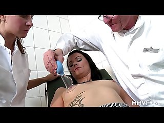 German milf gets medicine from the doctor