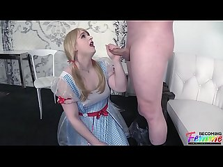 Submissive sissy chloe gets railed by her dream guy