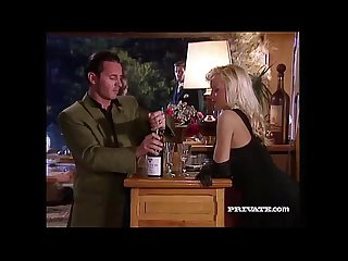 Silvia saint sucks a cock at a party while everyone watches