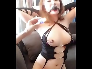 Wild Chinese Lady Enjoy to Play SM with Net Friend. Watch more:..
