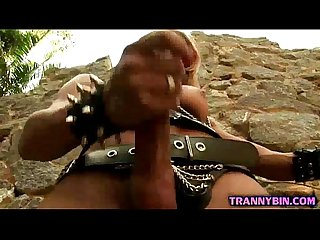 Hot ts mistress solo scene