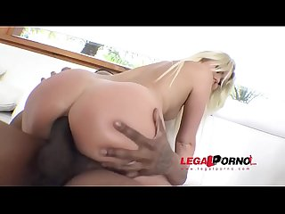 Interracial reverse gangbang 1on4 with Lara Onyx, Maria Devine, Ginger Fox & K