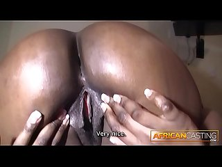 Amateur African Girl Gets Fucked At Casting Call