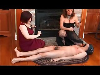 Femdom duo cbt and electroplay