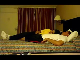 Busty and cute indian secretary pleases her boss in the Motel room