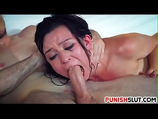 Teen Ariel Grace gets hard payback for being a bitch