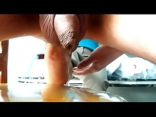 black girl fuck my ass (anal footing)