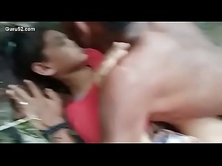 Desi village girl outdoor fucking