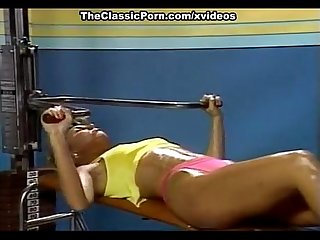 Candie evans francois papillon in sex in the sport club from xxx classic porn