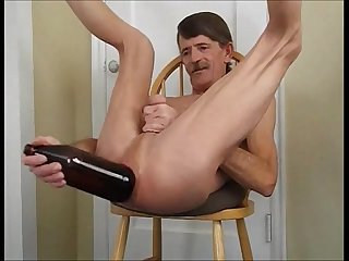 Big Anal Bottle Fuck -My Ass Gets More than a Penis or Fist