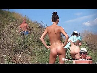 lovely girl nudist beach Formentera 1