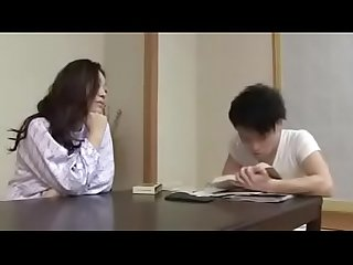 Japanese mom with son drink and fuck watch part2 on porn4us org