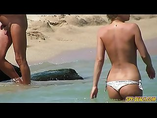 Topless Voyeur Beach Amateur MILFs - Spy-Beach Video
