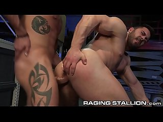 RagingStallion Big Dick Boss Daddy Cumshot All Over Ur Beard