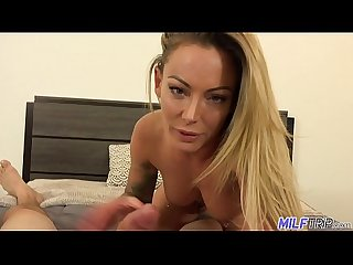 MILF Trip - Smoking hot blonde MILF gets slammed by fat cock - Part 1